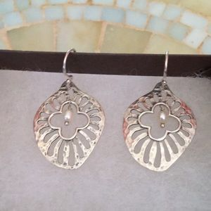 Silpada Sterling Silver Repose Earrings